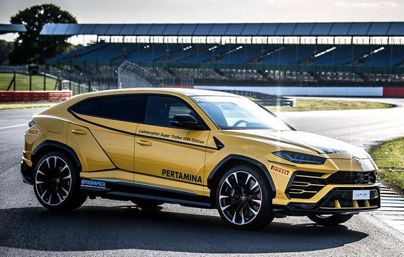Lamborghini Urus ajunge pe circuit: SUV-ul de 650 CP este lead car în competiția Super Trofeo Europe - Poza 1
