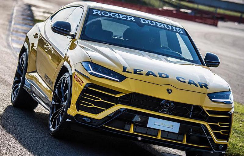Lamborghini Urus ajunge pe circuit: SUV-ul de 650 CP este lead car în competiția Super Trofeo Europe - Poza 2