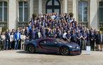 Bugatti are motive de sărbătoare: a produs 100 de exemplare Chiron