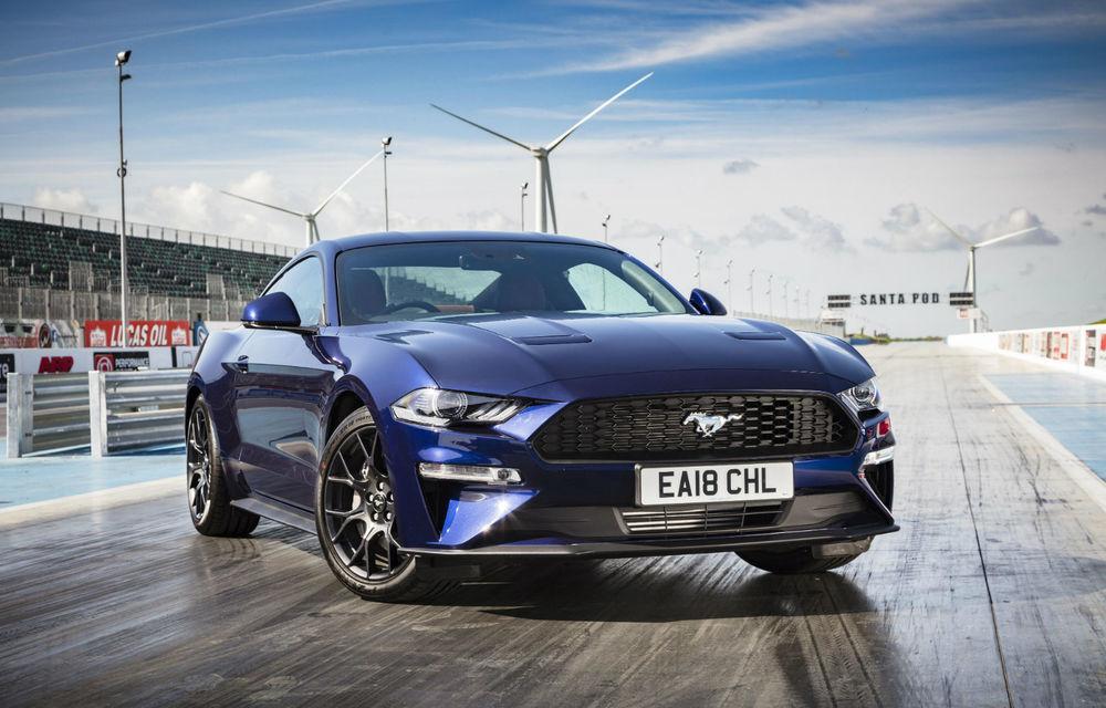Accesorii noi pentru Ford Mustang facelift: evacuare specială pentru versiunea de 2.3 litri, sistem audio de 1000 de wați și nuanțe noi de caroserie - Poza 1