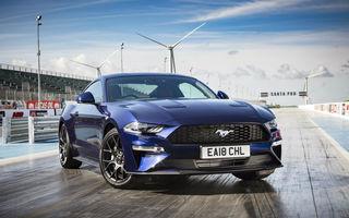 Accesorii noi pentru Ford Mustang facelift: evacuare specială pentru versiunea de 2.3 litri, sistem audio de 1000 de wați și nuanțe noi de caroserie