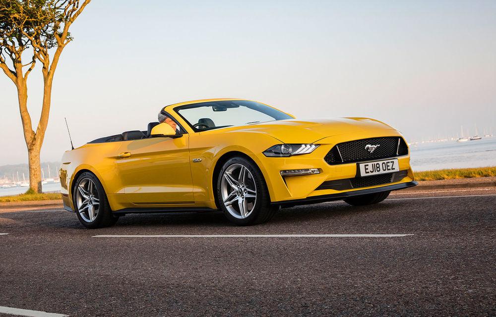 Accesorii noi pentru Ford Mustang facelift: evacuare specială pentru versiunea de 2.3 litri, sistem audio de 1000 de wați și nuanțe noi de caroserie - Poza 13