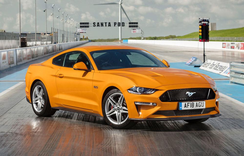 Accesorii noi pentru Ford Mustang facelift: evacuare specială pentru versiunea de 2.3 litri, sistem audio de 1000 de wați și nuanțe noi de caroserie - Poza 16