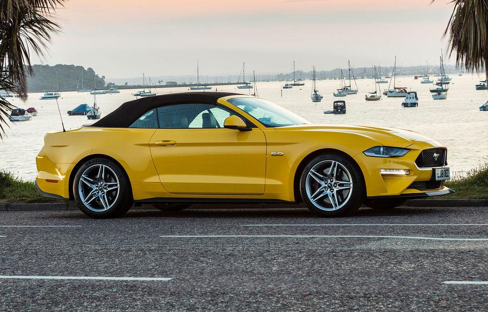Accesorii noi pentru Ford Mustang facelift: evacuare specială pentru versiunea de 2.3 litri, sistem audio de 1000 de wați și nuanțe noi de caroserie - Poza 12