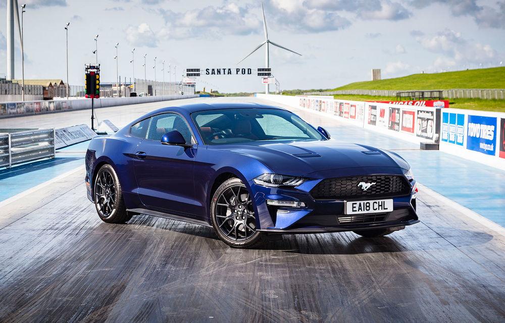 Accesorii noi pentru Ford Mustang facelift: evacuare specială pentru versiunea de 2.3 litri, sistem audio de 1000 de wați și nuanțe noi de caroserie - Poza 6