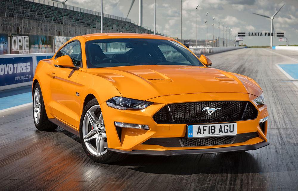Accesorii noi pentru Ford Mustang facelift: evacuare specială pentru versiunea de 2.3 litri, sistem audio de 1000 de wați și nuanțe noi de caroserie - Poza 18