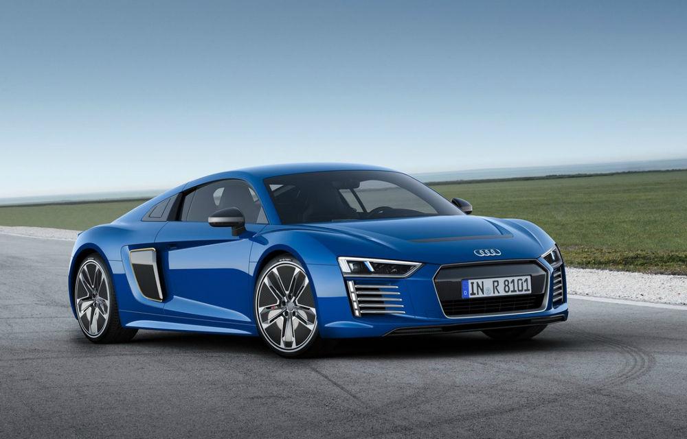 """Audi ar putea dezvolta un supercar electric cu o nouă tehnologie pentru baterii: """"Avem nevoie de îmbunatățiri pentru autonomie"""" - Poza 1"""