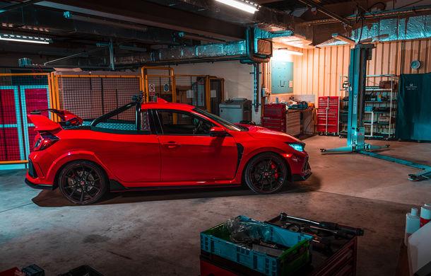 Project P: un Honda Civic Type R a fost transformat într-un pick-up care poate accelera de la 0 la 100 km/h în sub 6 secunde - Poza 4
