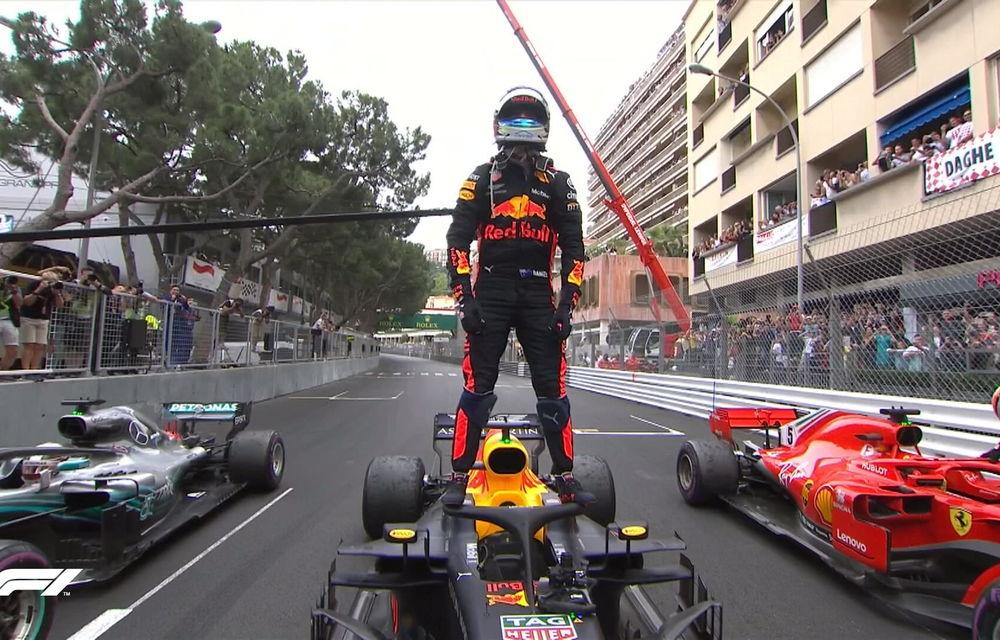 Ricciardo a câștigat cursa de la Monaco cu defecțiuni la motor! Vettel și Hamilton au completat podiumul - Poza 4