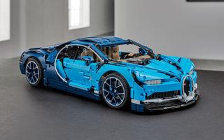 Pentru copilul din tine: Lego a pregătit un Bugatti Chiron din 3.599 de piese