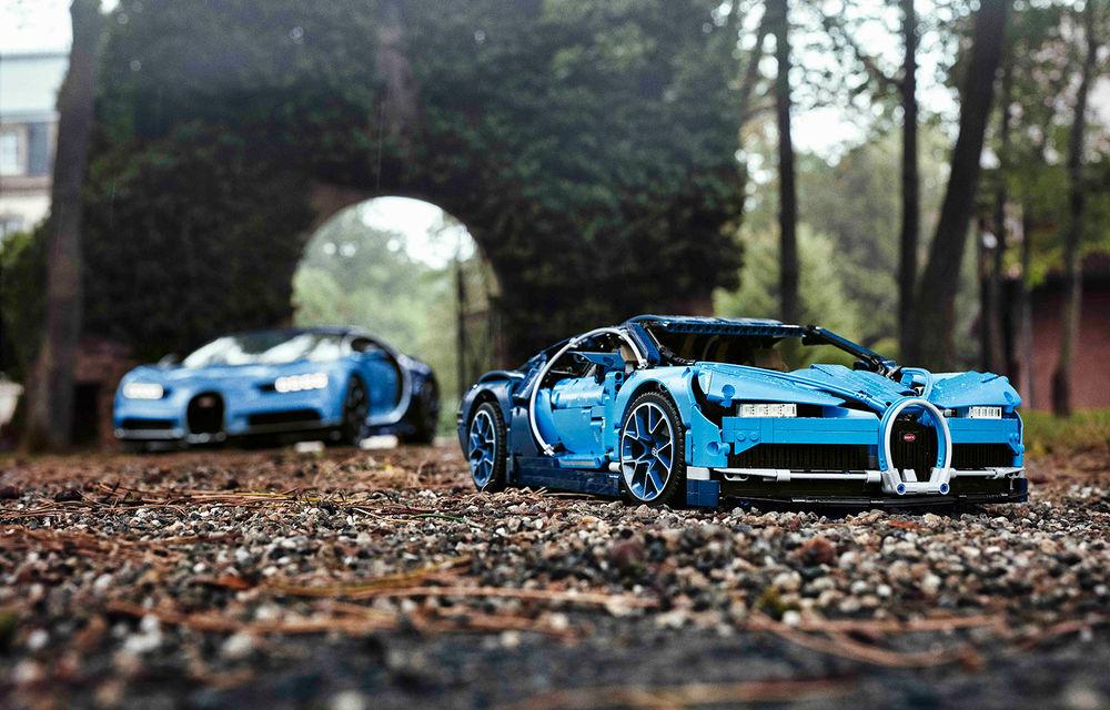 Pentru copilul din tine: Lego a pregătit un Bugatti Chiron din 3.599 de piese - Poza 5