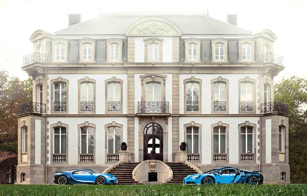 Pentru copilul din tine: Lego a pregătit un Bugatti Chiron din 3.599 de piese - Poza 4
