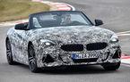 """Noul BMW Z4: primele imagini oficiale cu modelul camuflat. Noua generație """"va fi lansată în curând"""""""