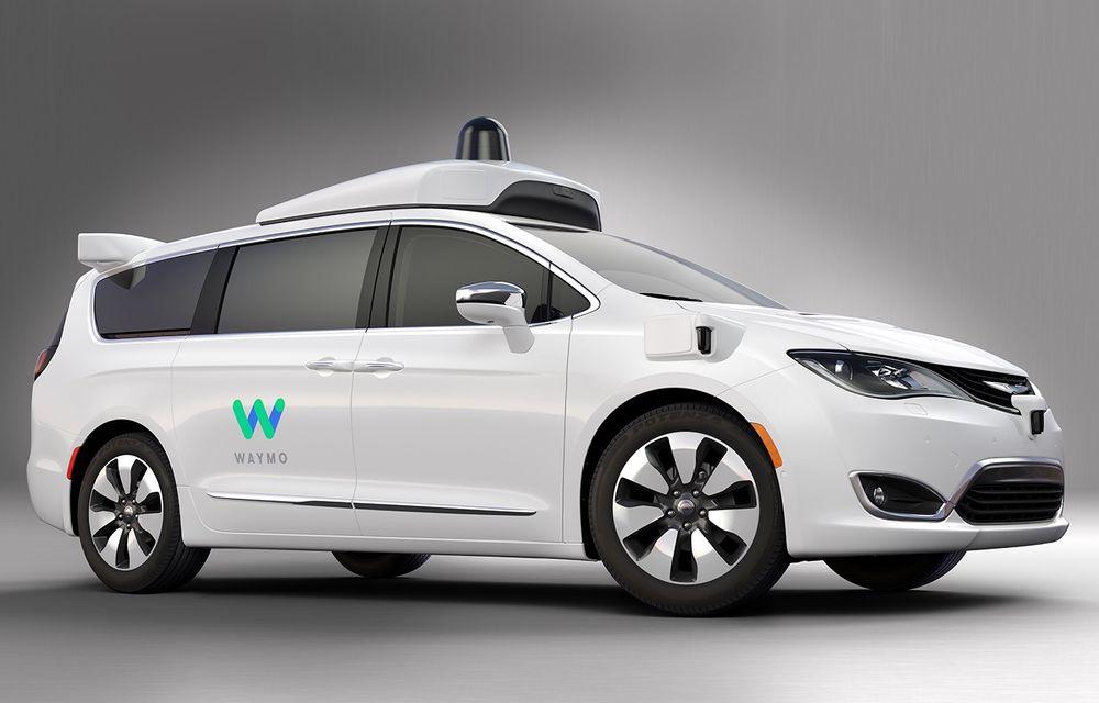 Google vrea să-și aducă mașinile autonome în Europa: Fiat-Chrysler și Jaguar Land Rover, posibili parteneri pentru divizia Waymo - Poza 1