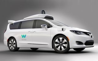 Google vrea să-și aducă mașinile autonome în Europa: Fiat-Chrysler și Jaguar Land Rover, posibili parteneri pentru divizia Waymo