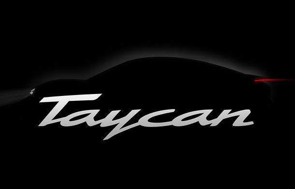 Conceptul Mission E a primit un nume pentru versiunea de serie: Porsche Taycan va deveni în 2019 primul model electric al mărcii - Poza 1
