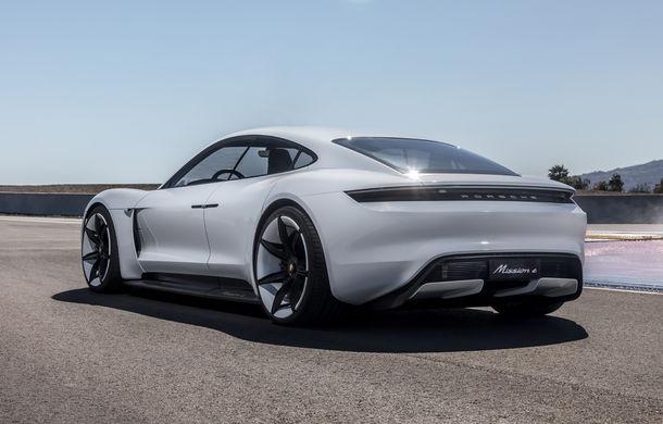 Conceptul Mission E a primit un nume pentru versiunea de serie: Porsche Taycan va deveni în 2019 primul model electric al mărcii - Poza 4