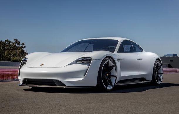 Conceptul Mission E a primit un nume pentru versiunea de serie: Porsche Taycan va deveni în 2019 primul model electric al mărcii - Poza 3