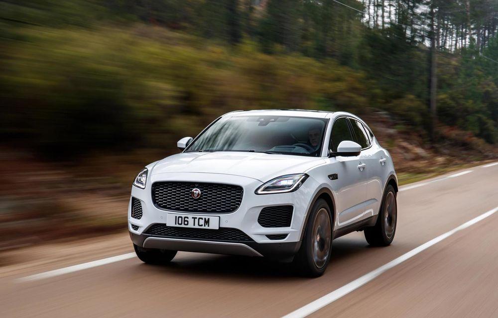 Jaguar aduce noutăți pentru SUV-ul E-Pace: suspensie adaptivă, tehnologii bazate pe inteligență artificială și un nou motor pe benzină de 200 CP - Poza 1