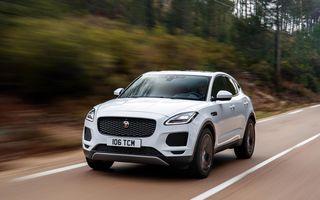 Jaguar aduce noutăți pentru SUV-ul E-Pace: suspensie adaptivă, tehnologii bazate pe inteligență artificială și un nou motor pe benzină de 200 CP