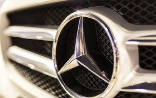 Decizia autorităților germane în cazul emisiilor diesel Mercedes: 774.000 de vehicule din Europa vor fi chemate în service pentru actualizarea softului motoarelor