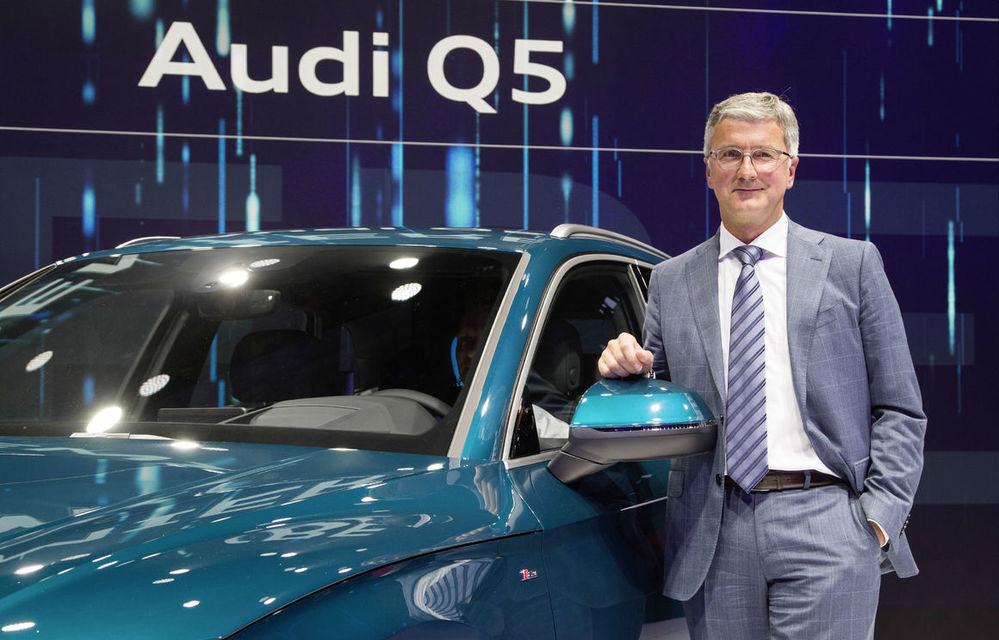 Șeful Audi a fost arestat în Germania: procurorii se tem că oficialul suspectat de fraudă ar vrea să ascundă dovezi în legătură cu scandalul Dieselgate - Poza 1