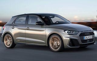 Audi A1 Sportback: instrumentar de bord complet digital, sisteme de siguranță moderne și nicio motorizare diesel