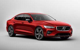 Noua generație Volvo S60: rivalul lui BMW Seria 3 și Audi A4 renunță la diesel, dar vine cu două versiuni plug-in hybrid de până la 415 CP