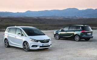 Victime ale trendurilor actuale: Opel Astra GTC și Opel Zafira au fost scoase din producție