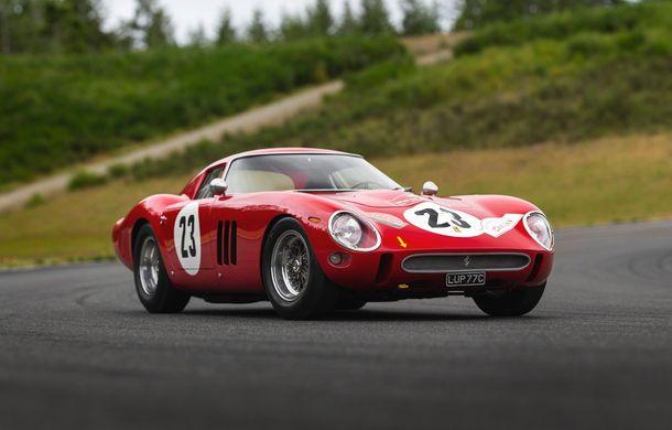 Un Ferrari din 1962 va deveni cea mai scumpă mașină vândută vreodată la o licitație publică: preț estimat la peste 45 de milioane de dolari - Poza 1