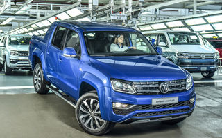 Versiunea de 258 CP a pick-up-ului Volkswagen Amarok este disponibilă în România: start de la 43.000 de euro