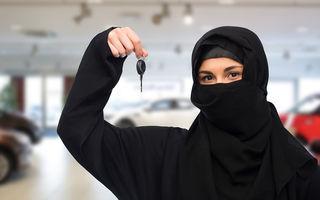 Zi istorică în Arabia Saudită: femeile au primit dreptul de a conduce mașini