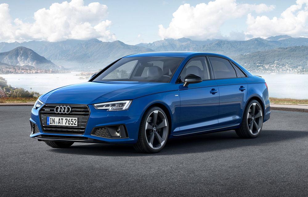 """Audi A4 și A4 Avant primesc un facelift subtil: modificări minore la barele de protecție și linie de echipare """"S line competition"""" - Poza 1"""