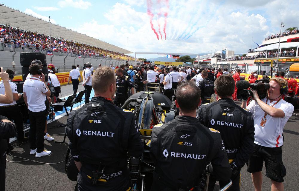 Allons enfants de la Patrie! Cum a sărbătorit Renault revenirea Franței în calendarul Formulei 1 - Poza 23