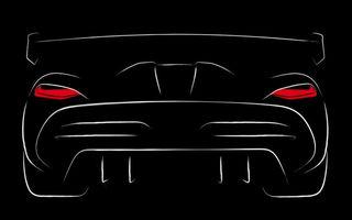 Prima schiță cu înlocuitorul lui Koenigsegg Agera RS: noul hypercar va fi prezentat în 2019 la Geneva