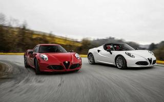 Informații despre viitorul Alfa Romeo 4C facelift: modelul italian debutează la finalul anului, dar fără versiune coupe