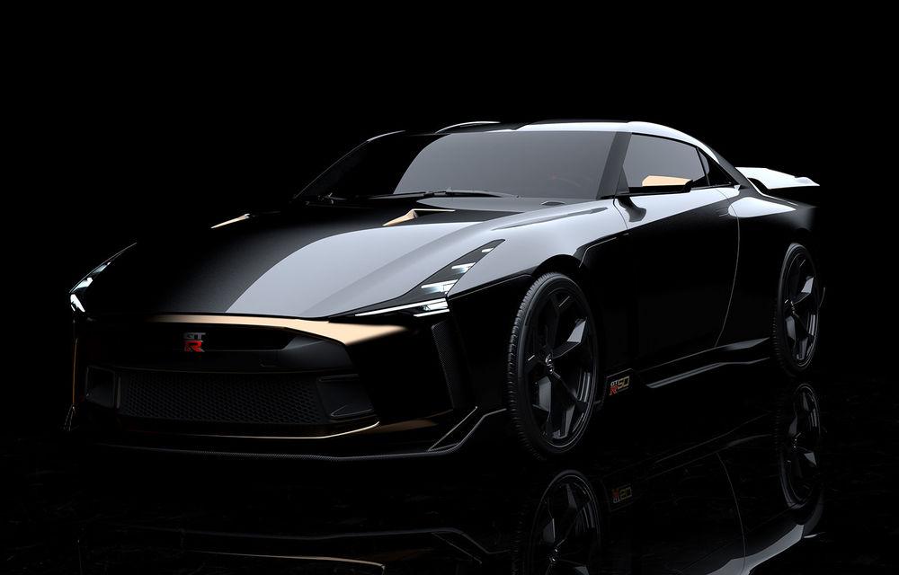Nissan GT-R50 by Italdesign: prototip de 720 de cai putere la aniversarea de 50 de ani a celor două companii - Poza 1