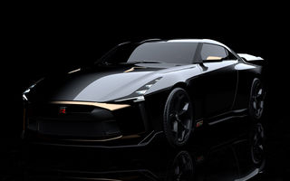 Nissan GT-R50 by Italdesign: prototip de 720 de cai putere la aniversarea de 50 de ani a celor două companii