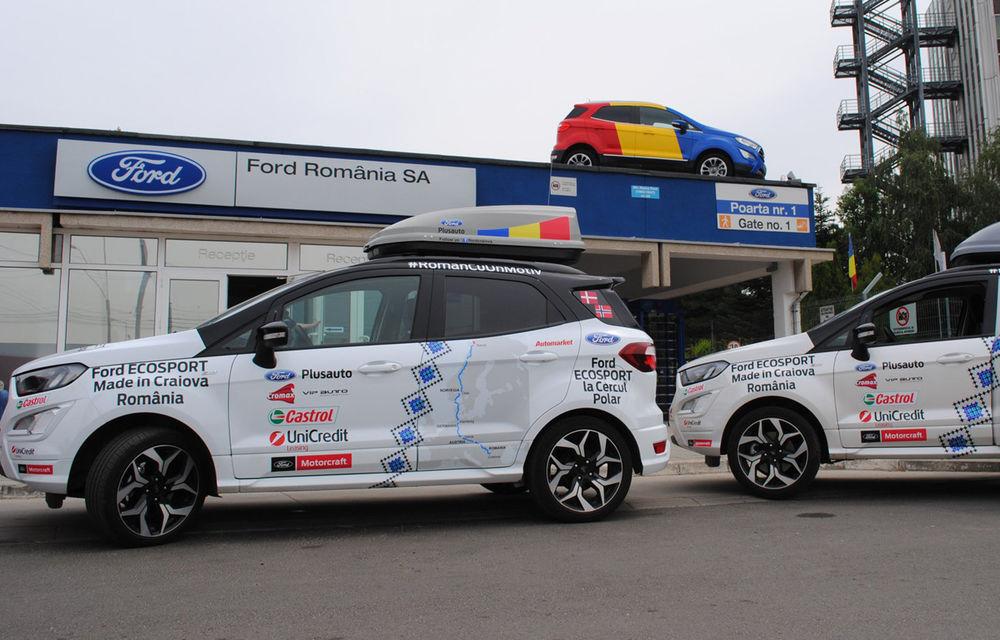 """Cu """"olteanul"""" Ford EcoSport la Cercul Polar: expediție de 10.000 de kilometri până în nordul Europei - Poza 2"""