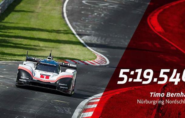 Porsche a doborât recordul all-time pe Nurburgring: prototipul 919 Hybrid Evo a parcurs Iadul Verde în 5 minute și 19.55 secunde - Poza 11