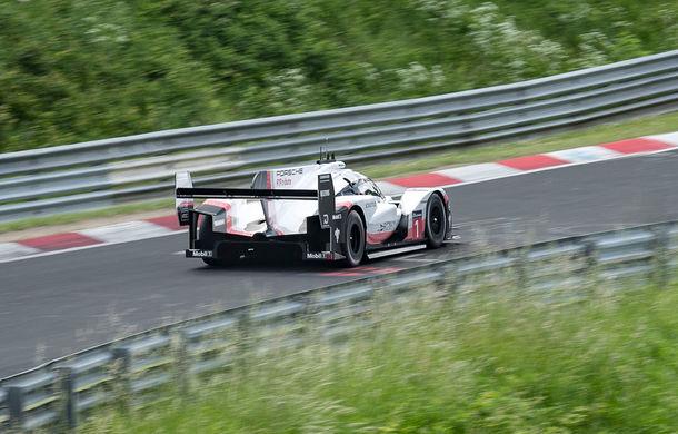 Porsche a doborât recordul all-time pe Nurburgring: prototipul 919 Hybrid Evo a parcurs Iadul Verde în 5 minute și 19.55 secunde - Poza 3