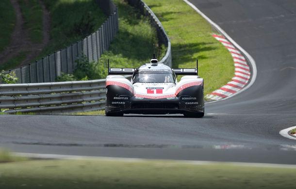 Porsche a doborât recordul all-time pe Nurburgring: prototipul 919 Hybrid Evo a parcurs Iadul Verde în 5 minute și 19.55 secunde - Poza 7
