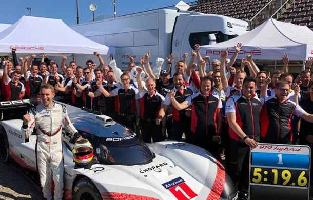 Porsche a doborât recordul all-time pe Nurburgring: prototipul 919 Hybrid Evo a parcurs Iadul Verde în 5 minute și 19.55 secunde - Poza 1