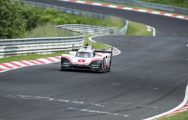 Porsche a doborât recordul all-time pe Nurburgring: prototipul 919 Hybrid Evo a parcurs Iadul Verde în 5 minute și 19.55 secunde - Poza 6