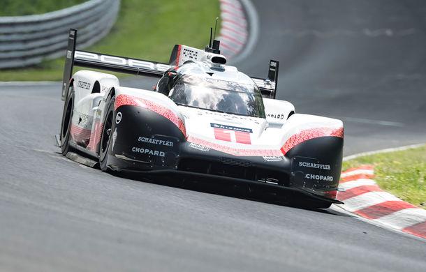 Porsche a doborât recordul all-time pe Nurburgring: prototipul 919 Hybrid Evo a parcurs Iadul Verde în 5 minute și 19.55 secunde - Poza 8
