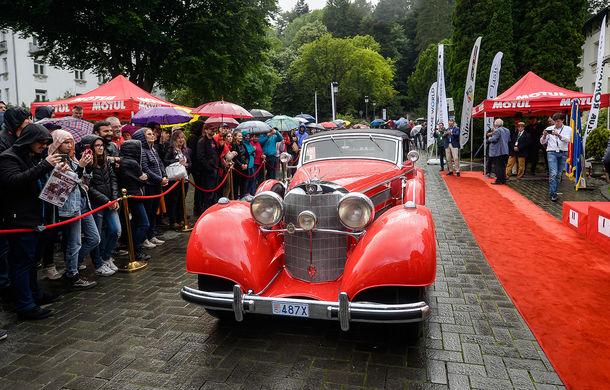 Best of Show: Mercedes 540k Cabriolet A Sindelfingen din 1937 câștigă Concursul de Eleganță Sinaia 2018 - Poza 4