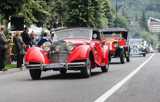 Best of Show: Mercedes 540k Cabriolet A Sindelfingen din 1937 câștigă Concursul de Eleganță Sinaia 2018 - Poza 3