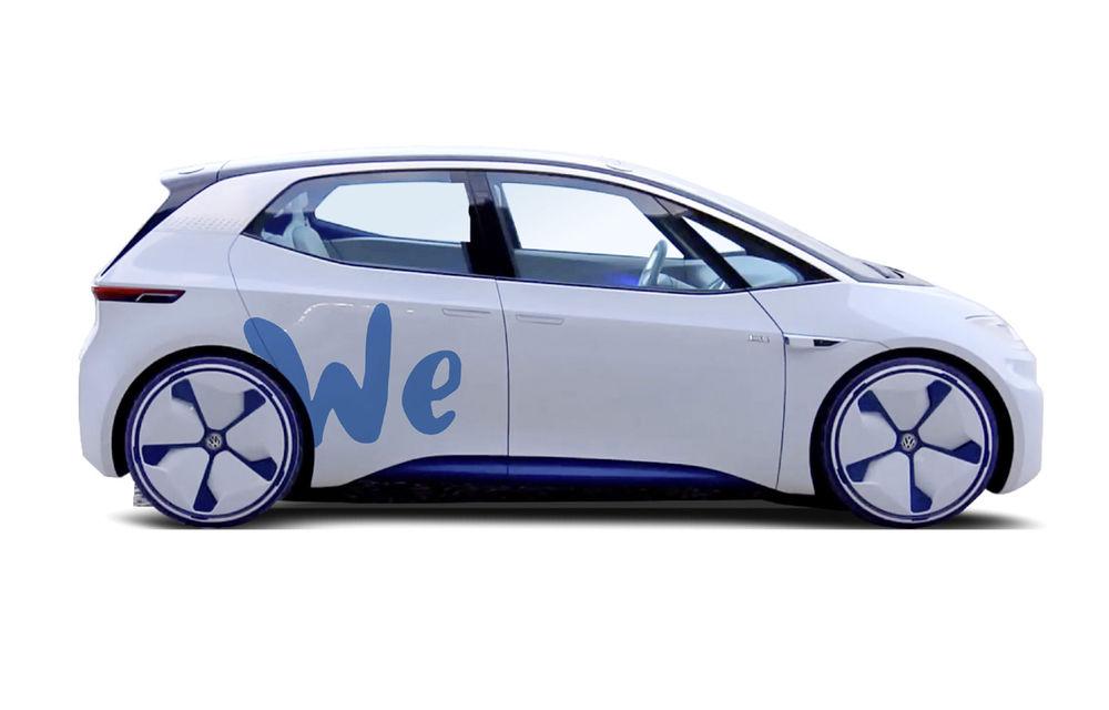 Volkswagen va lansa serviciul de car-sharing We cu mașini electrice: în Germania din 2019, extindere globală din 2020 - Poza 1