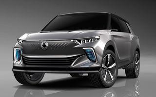 """Ssangyong pregătește primul model """"electrificat"""" din gamă: noul SUV Korando va fi inspirat de e-SIV, conceptul electric cu 190 CP și autonomie de 450 de kilometri"""