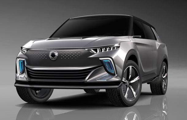 """Ssangyong pregătește primul model """"electrificat"""" din gamă: noul SUV Korando va fi inspirat de e-SIV, conceptul electric cu 190 CP și autonomie de 450 de kilometri - Poza 1"""